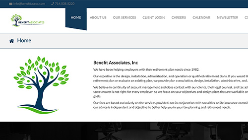 Associate Benefit Website